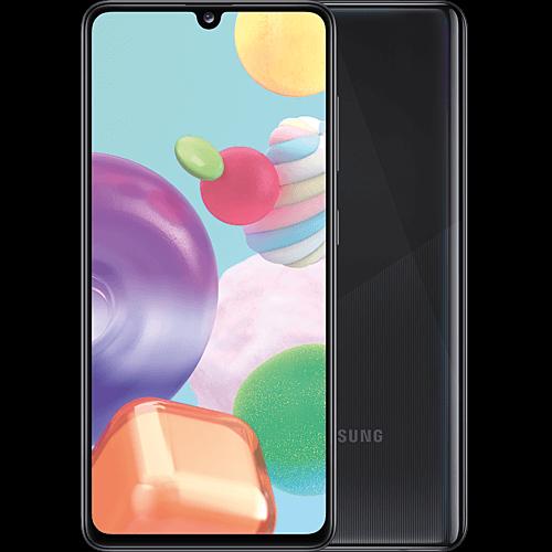 Samsung Galaxy A41 Black Vorne und Hinten