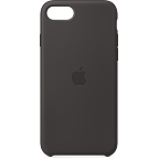 Apple Silikon Case iPhone SE - Schwarz 99930785 kategorie