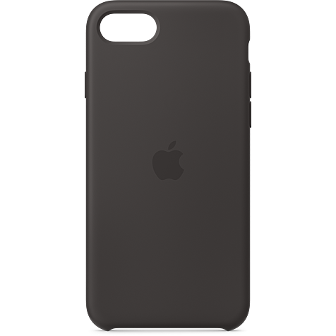 Apple Silikon Case iPhone SE - Schwarz 99930785 hero