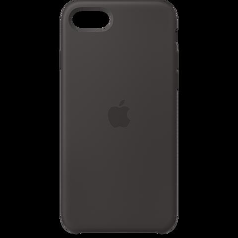 Apple Silikon Case iPhone SE - Schwarz 99930785 vorne