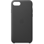 Apple Leder Case iPhone SE - Schwarz 99930789 kategorie