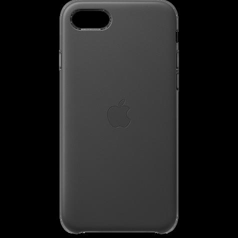 Apple Leder Case iPhone SE - Schwarz 99930789 hero
