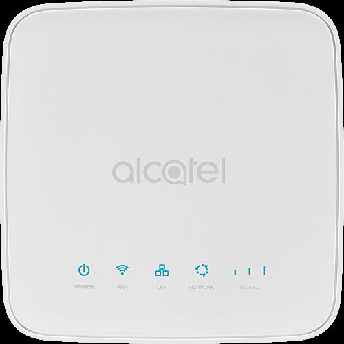 Alcatel HH40 Weiß Vorne und Hinten