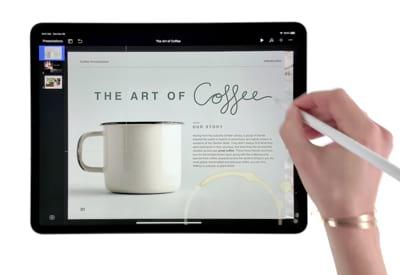 Das neue iPad: Eine neue Art, Präsentationen zu erstellen