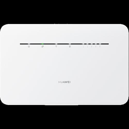 HUAWEI 4G Router 3 Pro Weiß Vorne und Hinten