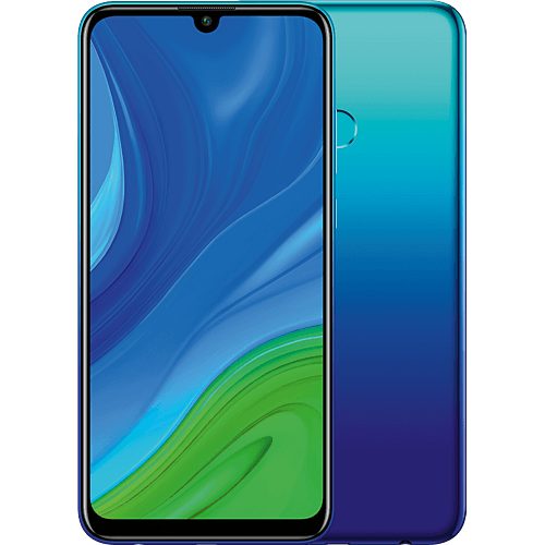 HUAWEI P smart 2020 Aurora Blue Vorne und Hinten