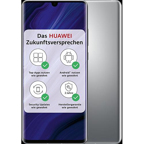 HUAWEI P30 Pro New Edition Silver Frost Vorne und Hinten