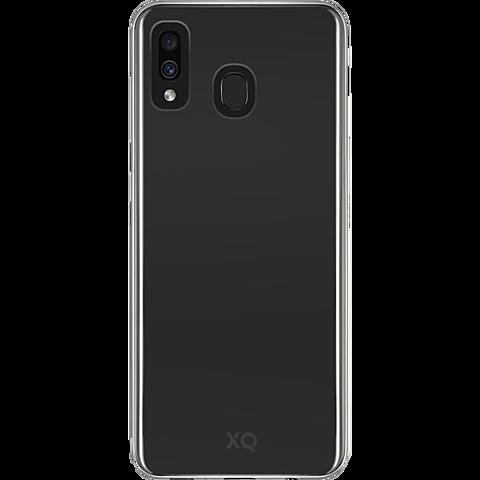 xqisit Flex Case Samsung Galaxy A40 - Transparent 99930611 vorne