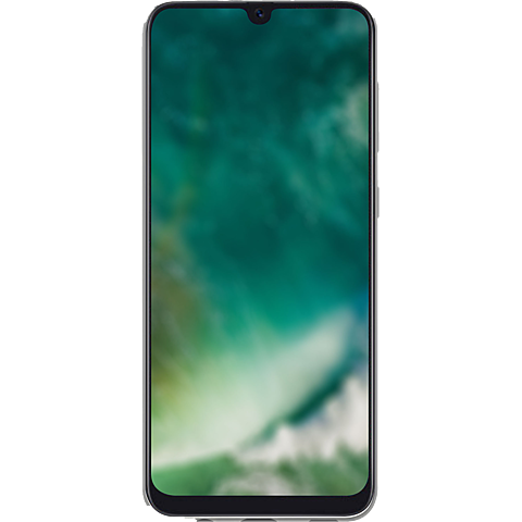 xqisit Flex Case Samsung Galaxy A40 - Transparent 99930611 hinten