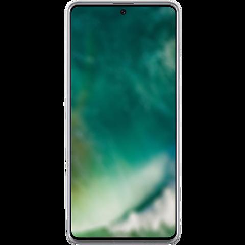 xqisit Flex Case Samsung Galaxy A71 - Transparent 99930612 hinten