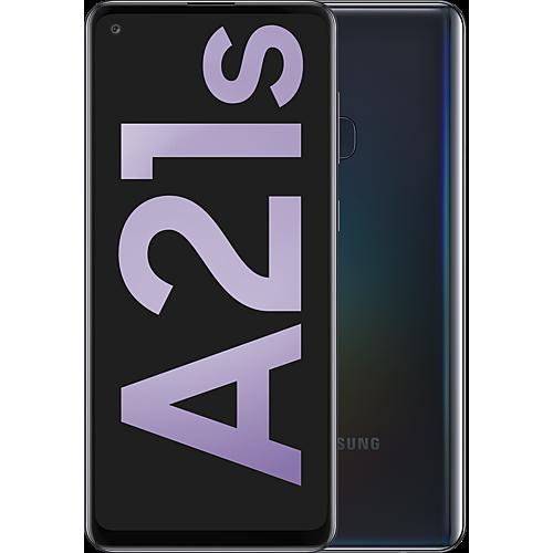 Samsung Galaxy A21s Black Vorne und Hinten