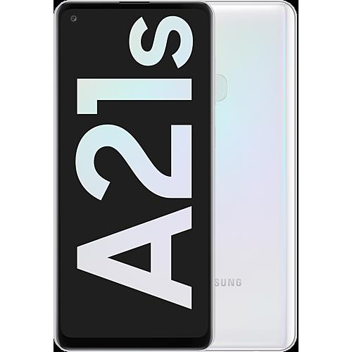 Samsung Galaxy A21s White Vorne und Hinten
