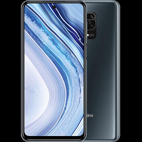 Xiaomi Redmi Note 9 Pro Interstellar Grey Vorne und Hinten
