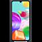 Samsung Silicone Cover Galaxy A41 - Schwarz 99930767 hinten thumb