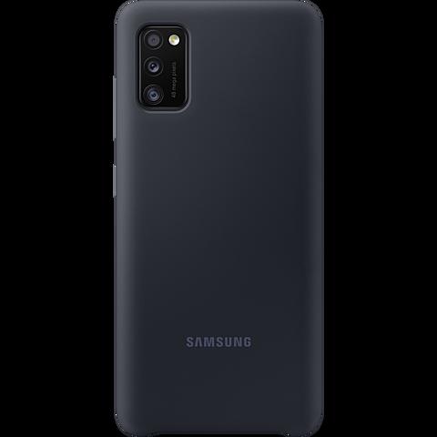 Samsung Silicone Cover Galaxy A41 - Schwarz 99930767 vorne