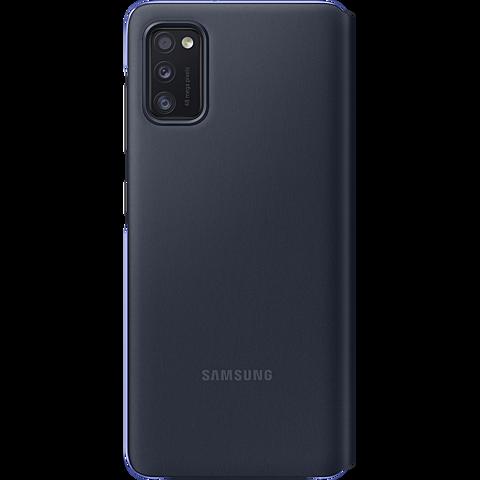 Samsung S-View Wallet Cover Galaxy A41 - Schwarz 99930768 hinten