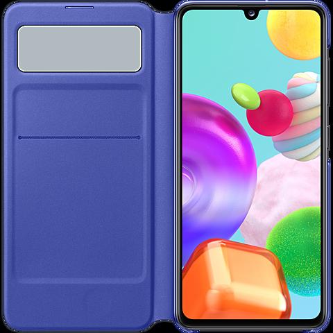 Samsung S-View Wallet Cover Galaxy A41 - Schwarz 99930768 seitlich