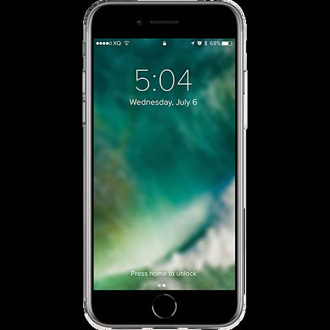 xqisit Flex Case Apple iPhone SE - Transparent 99930791 hinten