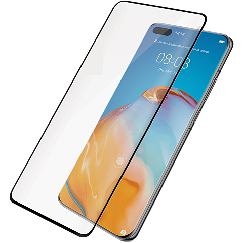 PanzerGlass Display Glas HUAWEI P40 Pro - Transparent 99930824 vorne