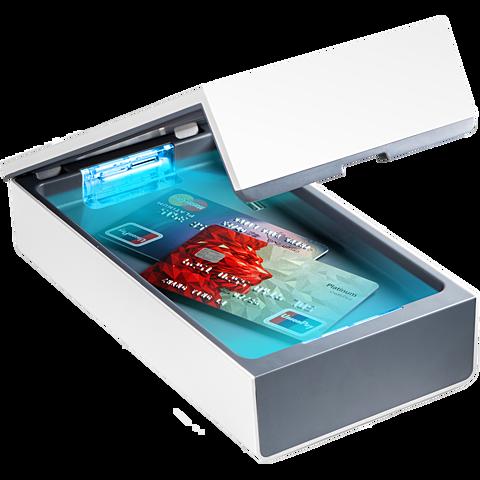 Technaxx TX148 UV Anti-Virus Desinfektions Box - Weiß 99930897 seitlich