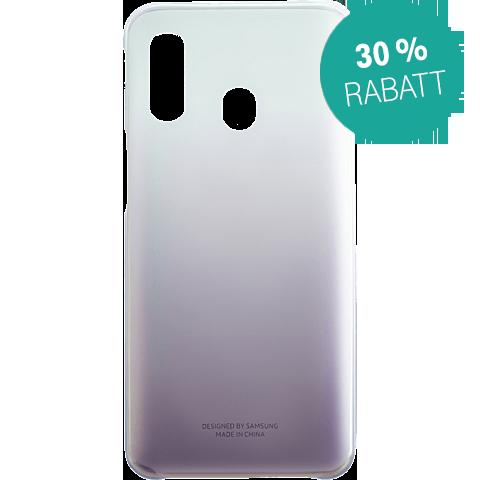 Samsung Gradation Cover Galaxy A40 - Schwarz 99929282 vorne