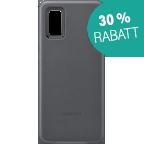 Samsung Leder Cover Galaxy S20+ - Grau 99930467 kategorie