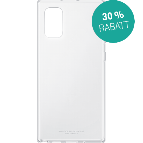 Samsung Clear Cover Galaxy Note10+ Transparent 99929638 vorne
