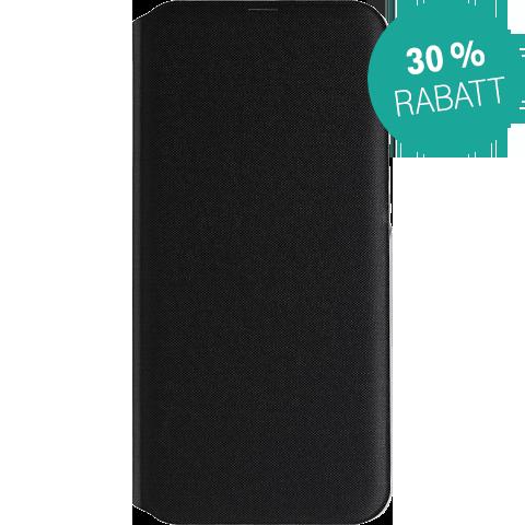 Samsung Wallet Cover Galaxy A40 - Schwarz 99929283 vorne