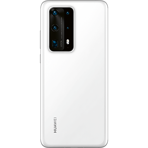HUAWEI P40 Pro+ 512 GB Weiß #ffffff Hinten