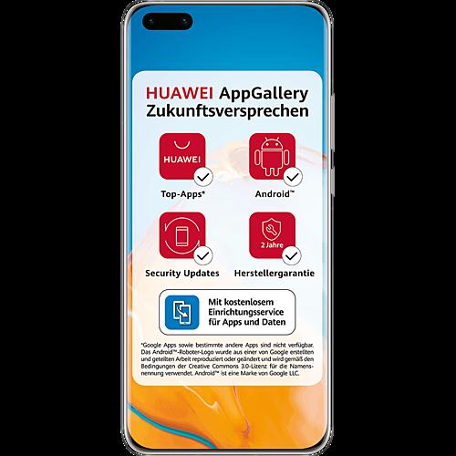 HUAWEI P40 Pro+ 512 GB Weiß #ffffff Vorne