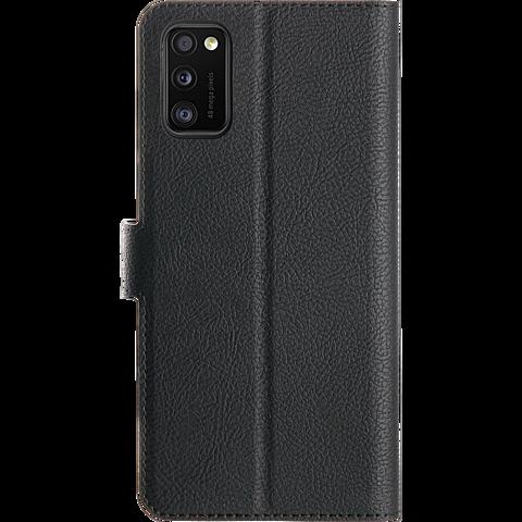 xqisit Slim Wallet Selection Samsung Galaxy A41 - Schwarz 99930886 hinten