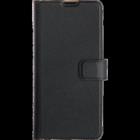 xqisit Slim Wallet Selection Samsung Galaxy A41 - Schwarz 99930886 vorne