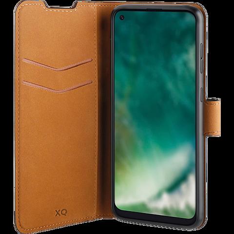 xqisit Slim Wallet Selection Samsung Galaxy A21s - Schwarz 99930887 seitlich