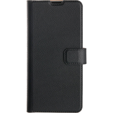 xqisit Slim Wallet Selection Samsung Galaxy A21s - Schwarz 99930887 vorne