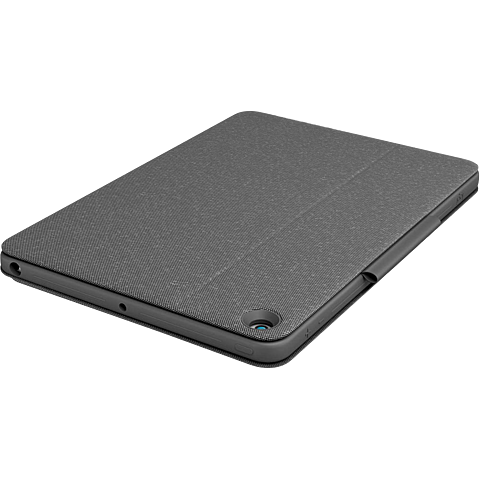 Logitech Combo Touch Schutzhülle Apple iPad (7. Generation) - Anthrazit 99930937 hinten