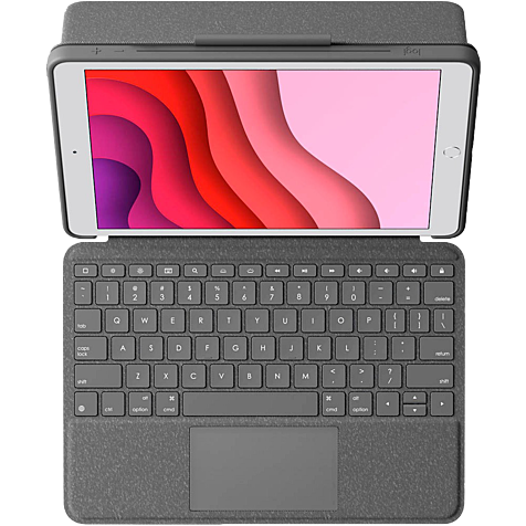 Logitech Combo Touch Schutzhülle Apple iPad (7. Generation) - Anthrazit 99930937 hero