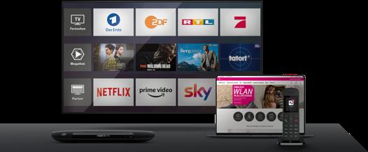 MagentaTV mit Internet & Festnetz