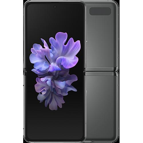 Samsung Galaxy Z Flip 5G Mystic Gray Vorne und Hinten