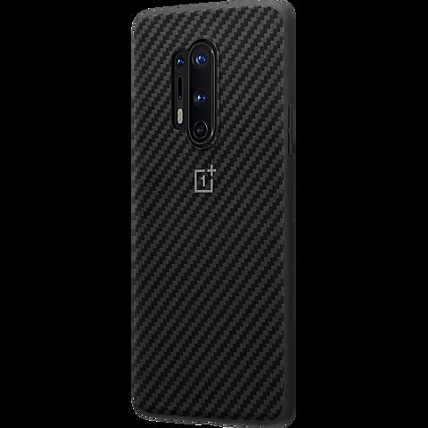 OnePlus Karbon Bumper Case OnePlus 8 Pro - Schwarz 99930896 seitlich
