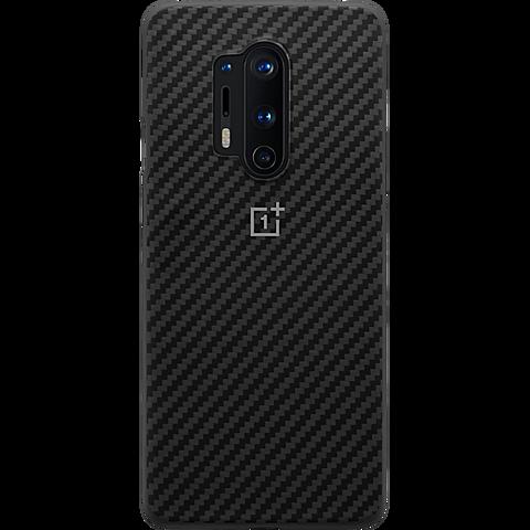 OnePlus Karbon Bumper Case OnePlus 8 Pro - Schwarz 99930896 vorne