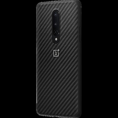 OnePlus Karbon Bumper Case OnePlus 8 - Schwarz 99930894 seitlich