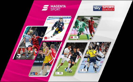 Magenta Sport mit Sky Sport Kompakt