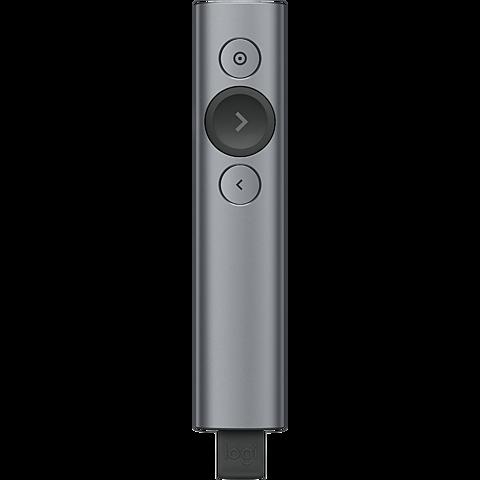 Logitech Spotlight Presentation Remote - Grau 99931028 vorne