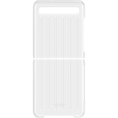 Samsung Clear Cover Galaxy Z Flip - Transparent 99931090 hinten
