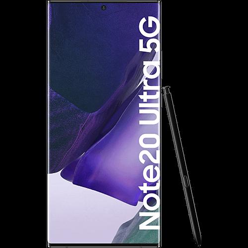 Samsung Galaxy Note20 Ultra 5G Mystic Black Vorne