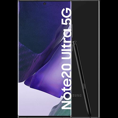 Samsung Galaxy Note20 Ultra 5G Mystic Black Vorne und Hinten