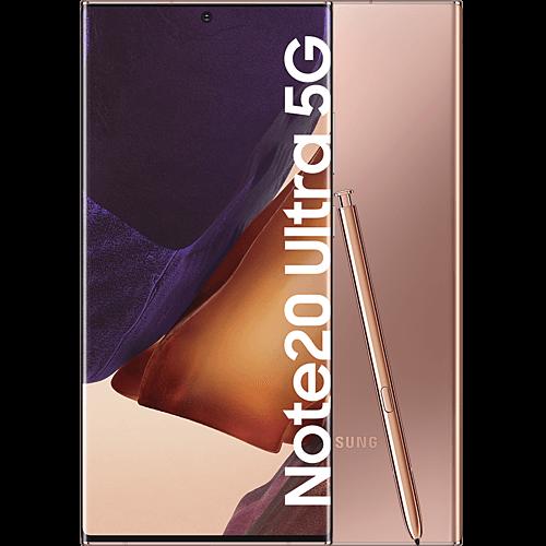 Samsung Galaxy Note20 Ultra 5G Mystic Bronze Vorne und Hinten