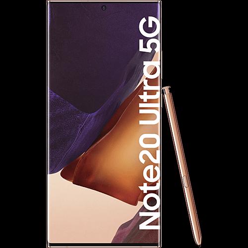 Samsung Galaxy Note20 Ultra 5G Mystic Bronze Vorne