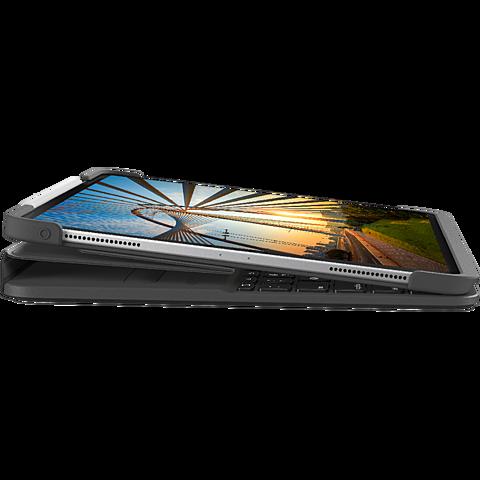 Logitech Slim Folio Apple 12,9 iPad Pro (4. Gen.) - Schwarz 99931231 seitlich