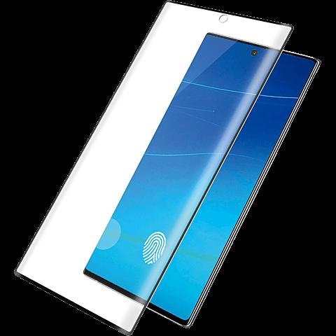 PanzerGlass Display Glas - Samsung Galaxy Note20 Ultra - Schwarz 99931235 vorne